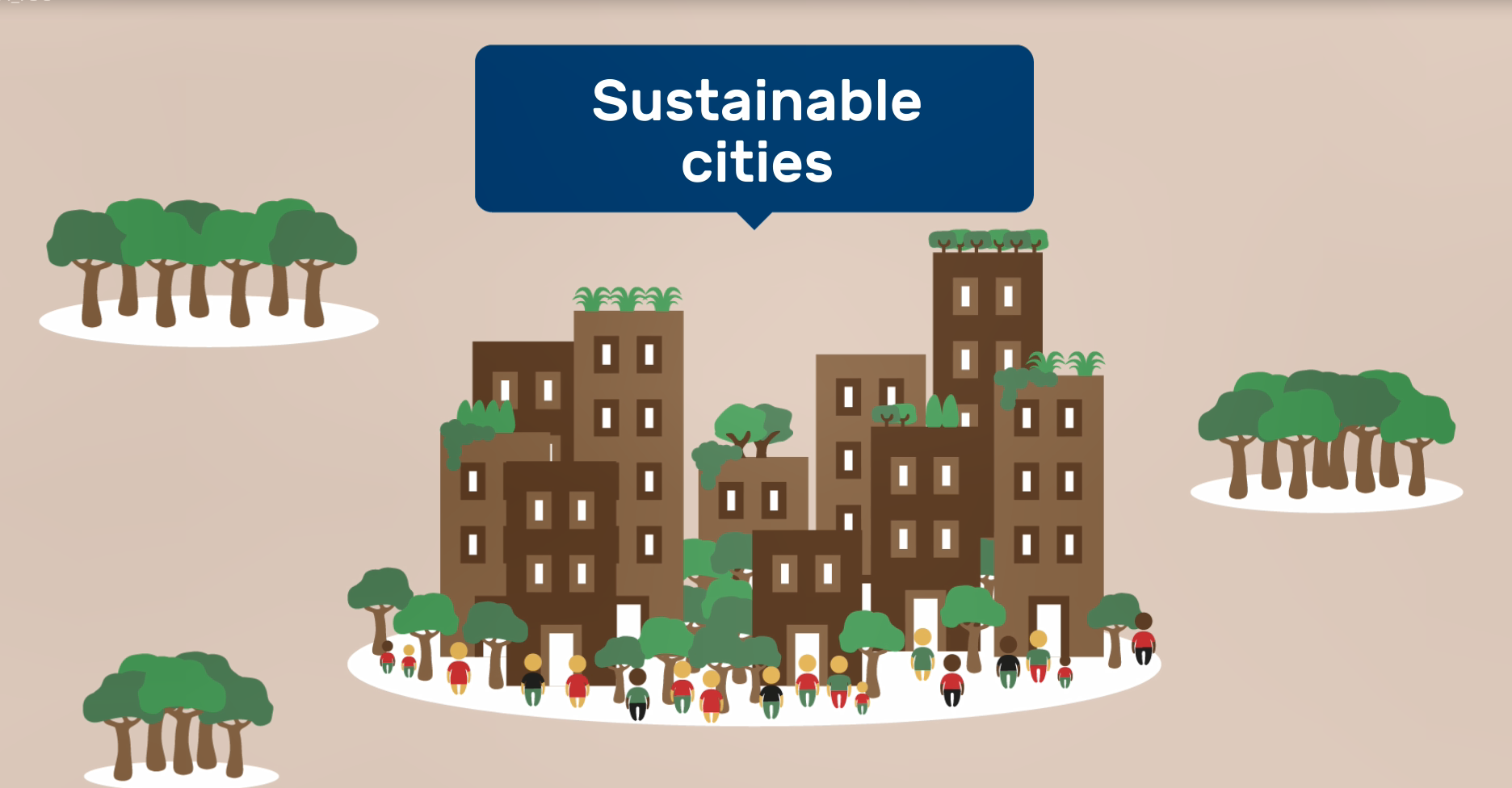 Forests for sustainable cities